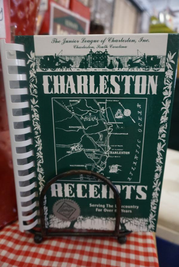 Souvenirs from Charleston: Charleston Receipts, a best-selling local cookbook.