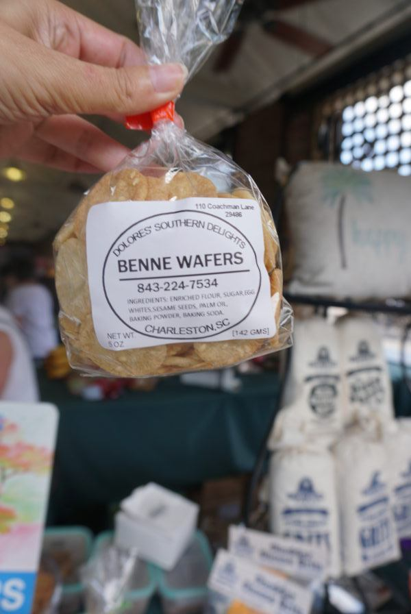 Benne wafers made in south carolina