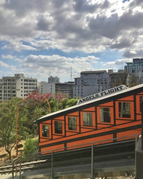 angel's flight funicular dtla downtown los angeles
