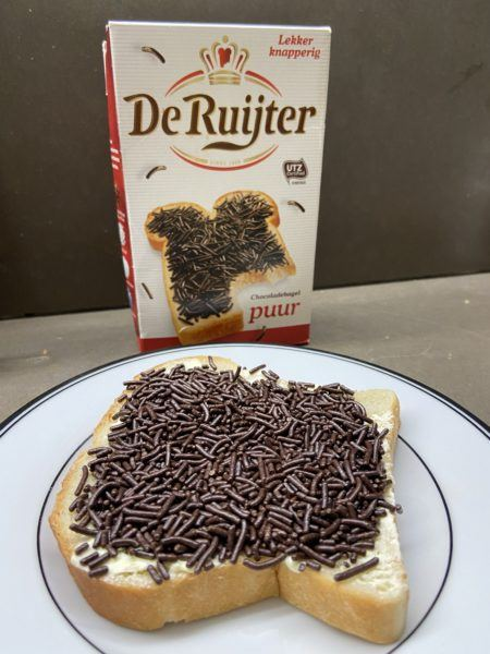 hagelslag on toast bread dutch chocolate sprinkles souvenirs
