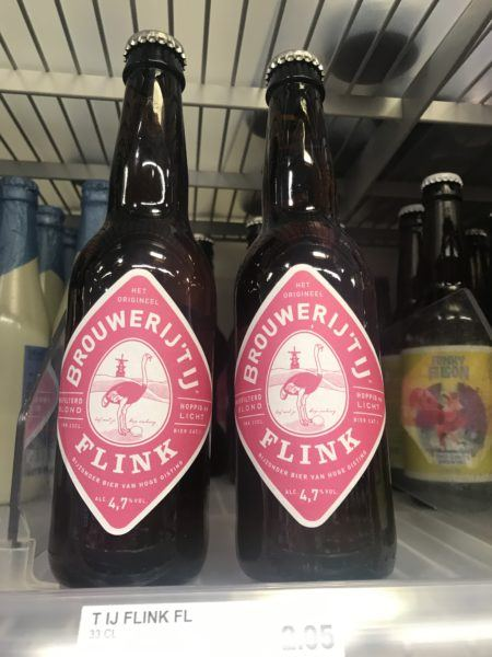Look for local Dutch beer brands on the shelves of any supermarket.