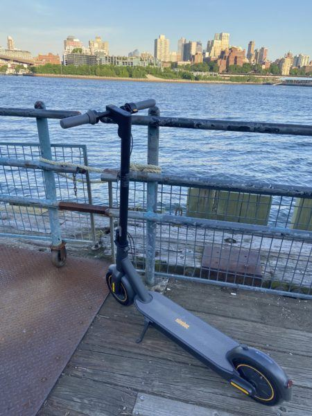 Review Segway Ninebot Max where ride nyc manhattan