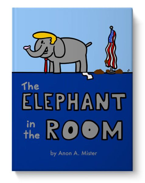 trump kids book political humor anonamister